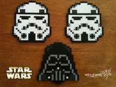 Darth Vader and Storm Troopers Star Was perler beads by RockerDragonfly on deviantART