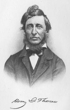 The Libraries of Famous Men: Henry David Thoreau