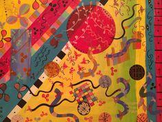 Just Happy, 80x100 cm, acrylic on canvas, October 2015