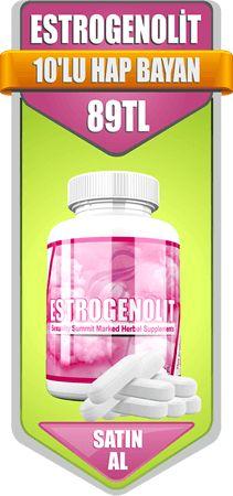 Estrogenolit 10'lu hap bayan satın al