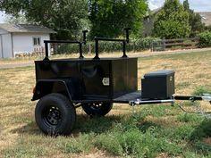Overland Trailer, Wrangler Accessories, Dump Trucks, Roof Rack, Jeep, Antique Cars, Classic Cars, Decorations, Ideas