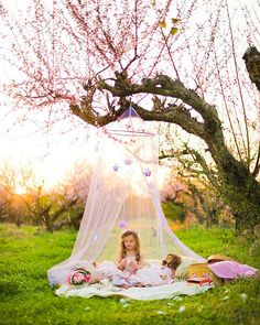 Peach tea party princess photograph Princess by fairyography