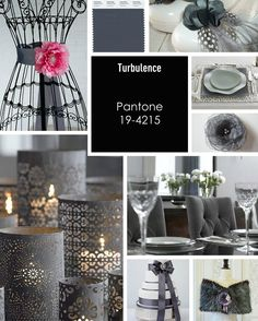 Turbulence - brought to you by Pantone Colors for Fall 2013. How will you use this color in your Wedding Design?