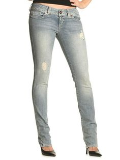 Ripped Skinny Jeans.