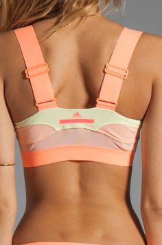 adidas by Stella McCartney Swim Top in Tinted Bliss & Haze Yellow | REVOLVE