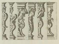 Caryatidum   Hans Vredeman de Vries   V&A Search the Collections