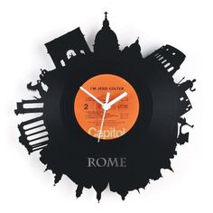 Nice RE_VINYL Wall Clock  Awesome Design