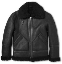 ACNE IAN SHEARLING #BIKER #JACKET  Like our FB page if you Love #Menswear: https://www.facebook.com/effstyle