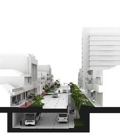 Projetos pensados para o futuro da cidade de São Paulo -- Avenida Santo Amaro, por Felipe Hess, com a colaboração de Pia Quagliato e Lucas Miilher