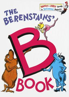 The B Book....B - B - B what begins with B?  Everything in this book!  I am loving reading these books to Aubrey again and again and sharing with her how I remember my mommy reading them over and over to me!