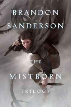 Mistborn Trilogy - a very cool fantasy book