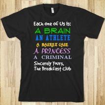 Breakfast Club T-Shirt from Glamfoxx Shirts