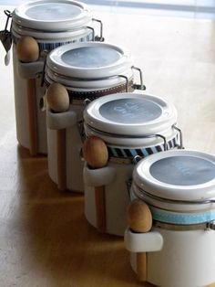 Repurpose Kitchen Canisters