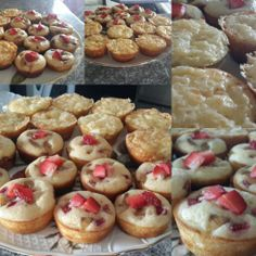 My StrawberryBanana and CheezyEgg morning muffins - Jaz O. Muf