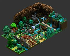 @Sir_carma started doing voxel art one year ago. Here's what he made so far.