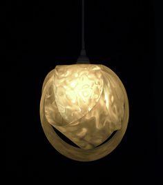 Infinity lamp in white.