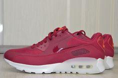 low priced 8fb1b ac937 WMNS Nike Air Max 90 Ultra Gr.41 Rot Damenschuhe Sneaker Schuhe Sportschuhe  Neu