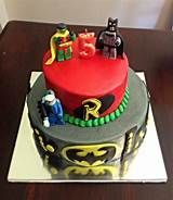 Lego Batman and Robin cake w/ Mr. Lego Batman Cakes, Lego Batman Party, Batman Birthday, 5th Birthday, Birthday Parties, Birthday Cakes, Superhero Party Activities, Robin, Make It Yourself