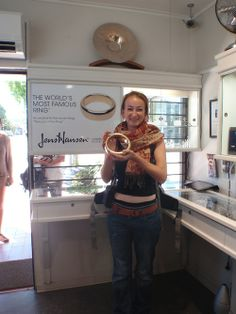 "A tour of Middle Earth isnt complete until you hold the ""One Ring"" at our Studio in Nelson"