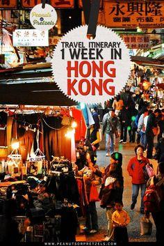 Travel Itinerary: 1 Week in Hong Kong - Peanuts or Pretzels Travel