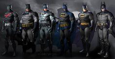 IDEASHOT: El traje de Batman