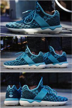 "ON-FOOT LOOK // ADIDAS TUBULAR PRIMEKNIT ""BLUE SPIRIT"""