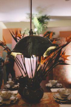 Interior Design by Desiree Casoni lamp by Casa Alfarera