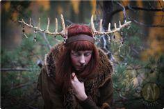 Wooden Shaman Antlers #2 by Nymla on deviantART