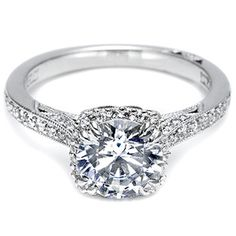 I love Tacori rings!
