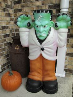 empire scary frankenstein halloween blow mold outdoor yard decor 36