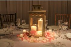 on your reception centerpieces, not every table needs a lavish floral ...