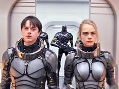 "REVIEW: Model Cara Delevingne redeems her terrible 'Suicide Squad' performance with the sci-fi epic 'Valerian' - Until now, Cara Delevingne's biggest role was as the Enchantress in ""Suicide Squad."" She was, quite frankly, as awful as the rest of the movie .  She's great, however, in ""Valerian and the City of a Thousand Planets,"" where she and Dane DeHaan star as intergalactic government agents a few thousand years in the future. They stumble upon a criminal conspiracy that threatens to…"