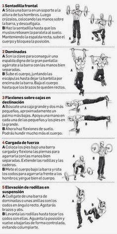 EL ENTRENAMIENTO DE JASON STATHAM | Aptitud Fitness