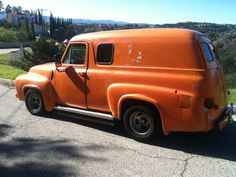 1955 Ford F100 Panel Truck