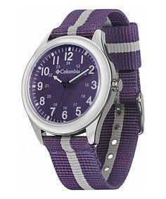 Look at this #zulilyfind! Purple Fieldfox Watch - Women by Soleus #zulilyfinds