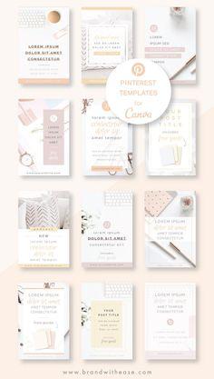 Pinterest Template, Editing Skills, Logo Design, Media Design, Design Design, Graphic Design, Business Plan Template, Instagram Post Template, Social Media Template