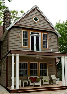 Best Chocolate Brown Exterior House Color Gray And Brown Exterior Paint Colors For Brown Roof 400 x 300