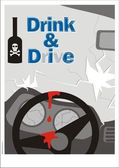 don't drink and drive posters - Ads Creative, Creative Posters, Creative Advertising, Cool Posters, Drive Safe Quotes, Road Trip Quotes, Road Safety Poster, Safety Posters, Dont Text And Drive