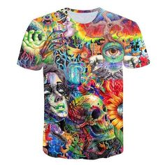 33aaa5694 Ancient Knowledge T-Shirt psychedelic 3d Print t shirt Women Men Fashi –  geekbuyig Psychedelic