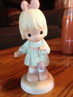 Precious Moments God Knows Our Ups And Downs Figurine Girl W/ Yoyo