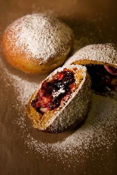 The Latest Hybrid Dessert: Turkey and Cranberry Sauce-Stuffed Doughnuts