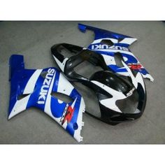 Suzuki GSX-R 600/750 2001-2003 K1 K2 Injection ABS Fairing - Others - Blue/White/Black | $639.00