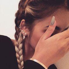 Baddies Favourite Ear Piercing Jewelry at MyBodiArt Baddies Fa. - Baddies Favourite Ear Piercing Jewelry at MyBodiArt Baddies Favourite Ear Piercin - Tragus Piercings, Piercing Tattoo, Piercings Corps, Piercing Eyebrow, Ear Peircings, Cute Ear Piercings, Body Piercings, Cartilage Earrings, Multiple Ear Piercings