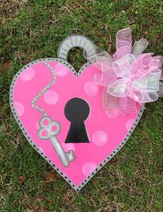 Valentine door hangerValentine door hanger by Furnitureflipalabama