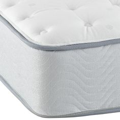 Simmons Beautyrest �  Beginnings Plush Mattress  | The Land of Nod ($399 twin- $549 queen)
