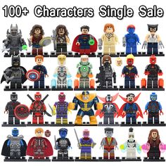 2016 Newest Minifigures For Individually Sale Marvel DC Super Heroes Avengers Batman Iron Man Deadpool Building Blocks Toys-in Blocks from Toys & Hobbies on Aliexpress.com | Alibaba Group