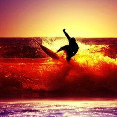 #surf #sunset