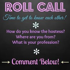 roll call                                                                                                                                                     More