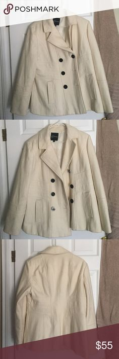 Selling this A Guess pea coat on Poshmark! My username is: am989714. #shopmycloset #poshmark #fashion #shopping #style #forsale #Guess #Jackets & Blazers
