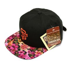 I NEED!!! The Genesis Project Floral Snapback Hats | Por Homme - Men's Lifestyle, Fashion, Footwear and Culture Magazine